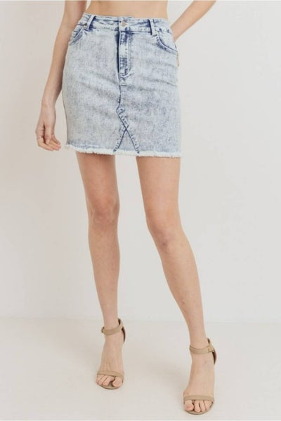 According To You Denim Skirt - Sizes 4-12