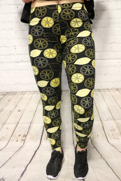 When Life Gives You Lemons Leggings - Sizes 2-20