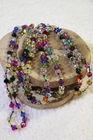 Treasure Point Of Perfection Beaded Necklace