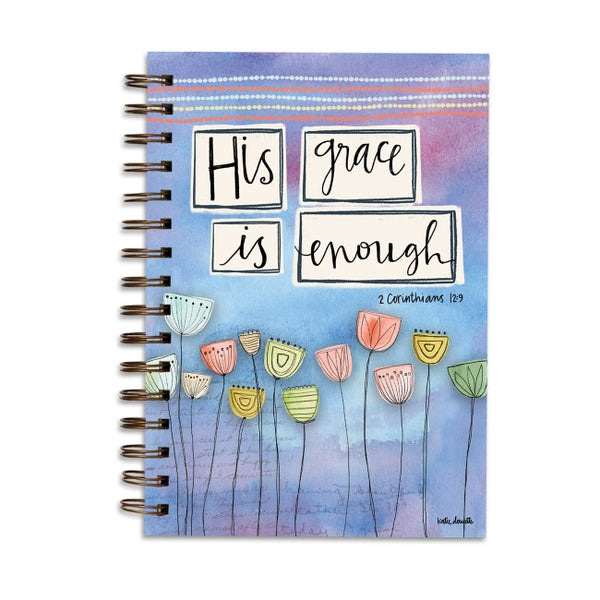His Grace Is Enough 2 Cor. 12:9 Lined Journal