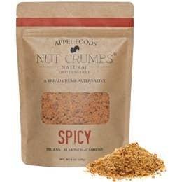 Nut Crumbs All Natural Gluten Free Bread Crumb Alternative in Multiple Flavors - 8 OZ Bag