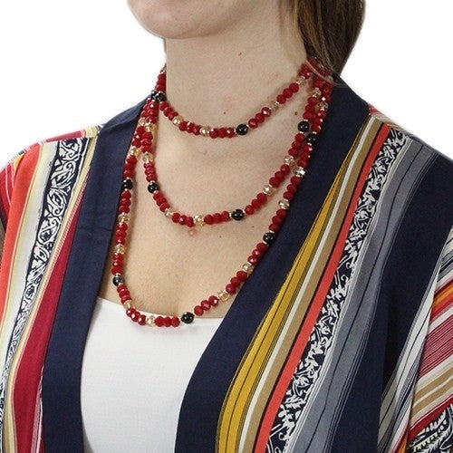 So Happy Together Beaded Necklace in Multiple Colors