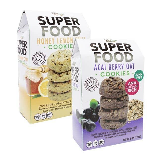 Super Food Cookies in Multiple Flavors - 6 OZ *Final Sale*