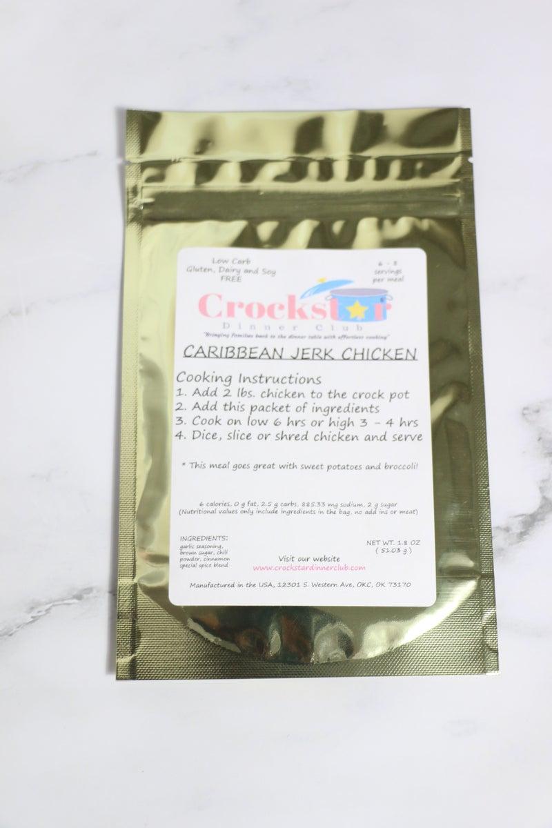 Crockstar Caribbean Jerk Chicken - Low Carb, Gluten, Dairy & Soy Free