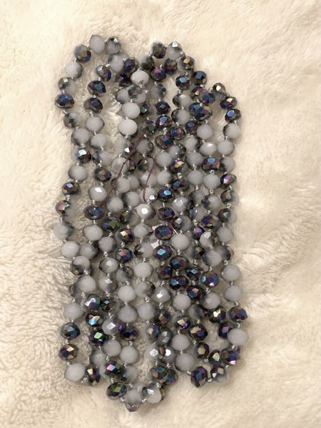 Snowdrop Point Of Perfection Beaded Necklace