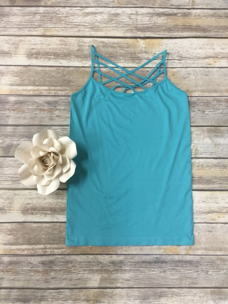 Spin It Up Lattice Cami in Multiple Colors ~ Sizes 4-20
