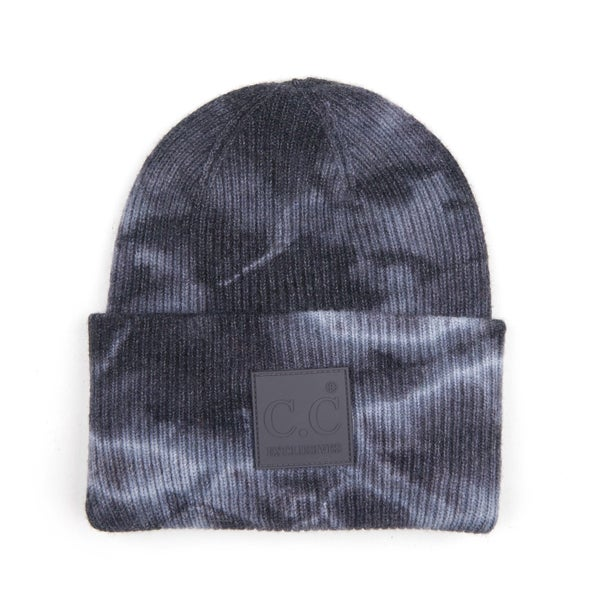 Better on My Own Black Tie Dye CC Beanie