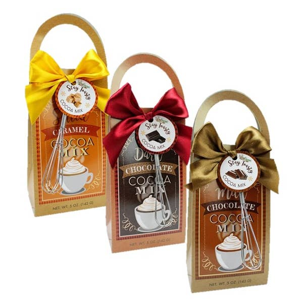 Stay Toasty Hot Cocoa Mix with Whisk in Multiple Flavors