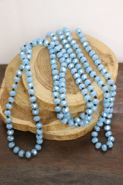 Stormy Skies Point Of Perfection Beaded Necklace
