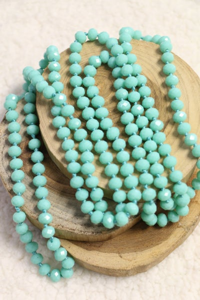Mint Point Of Perfection Beaded Necklace
