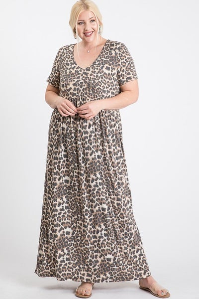 It's Only Right Maxi Dress in Multiple Prints - Sizes 4-20