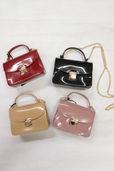 My Greatest Achievement Miniature Bag With Gold Chain In Multiple Colors