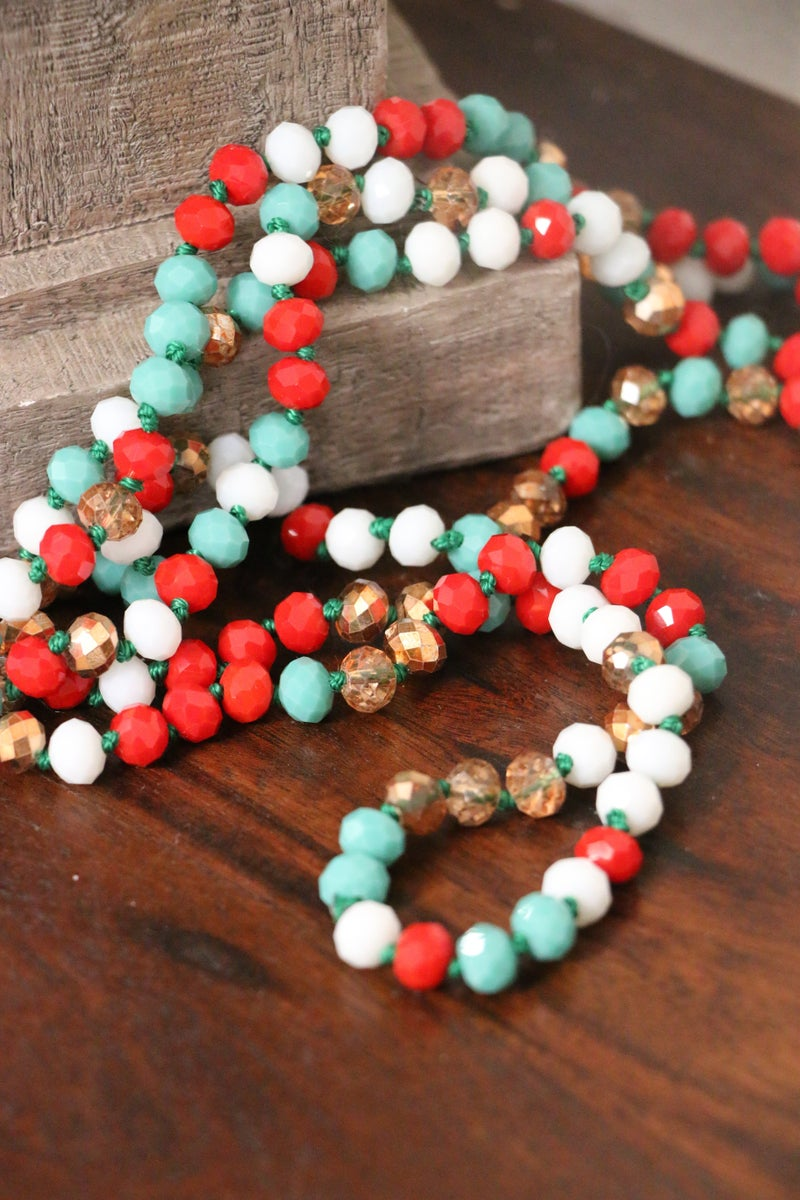 Christmas Day Point Of Perfection Beaded Necklace
