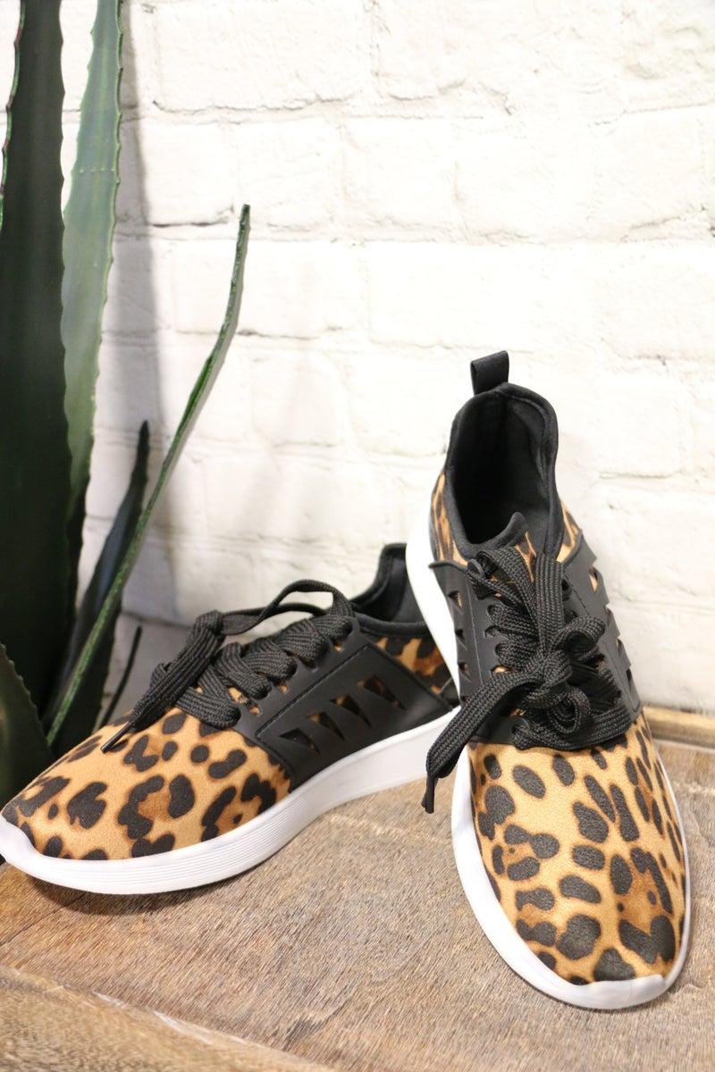 Lovely Leopard Sneakers-Sizes-7-11