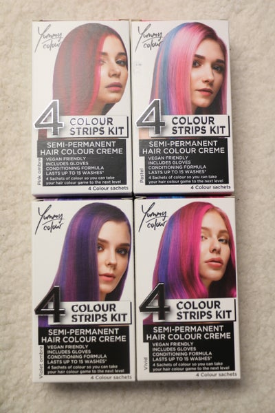 Yummy Color Semi-Permanent Hair Color Kit