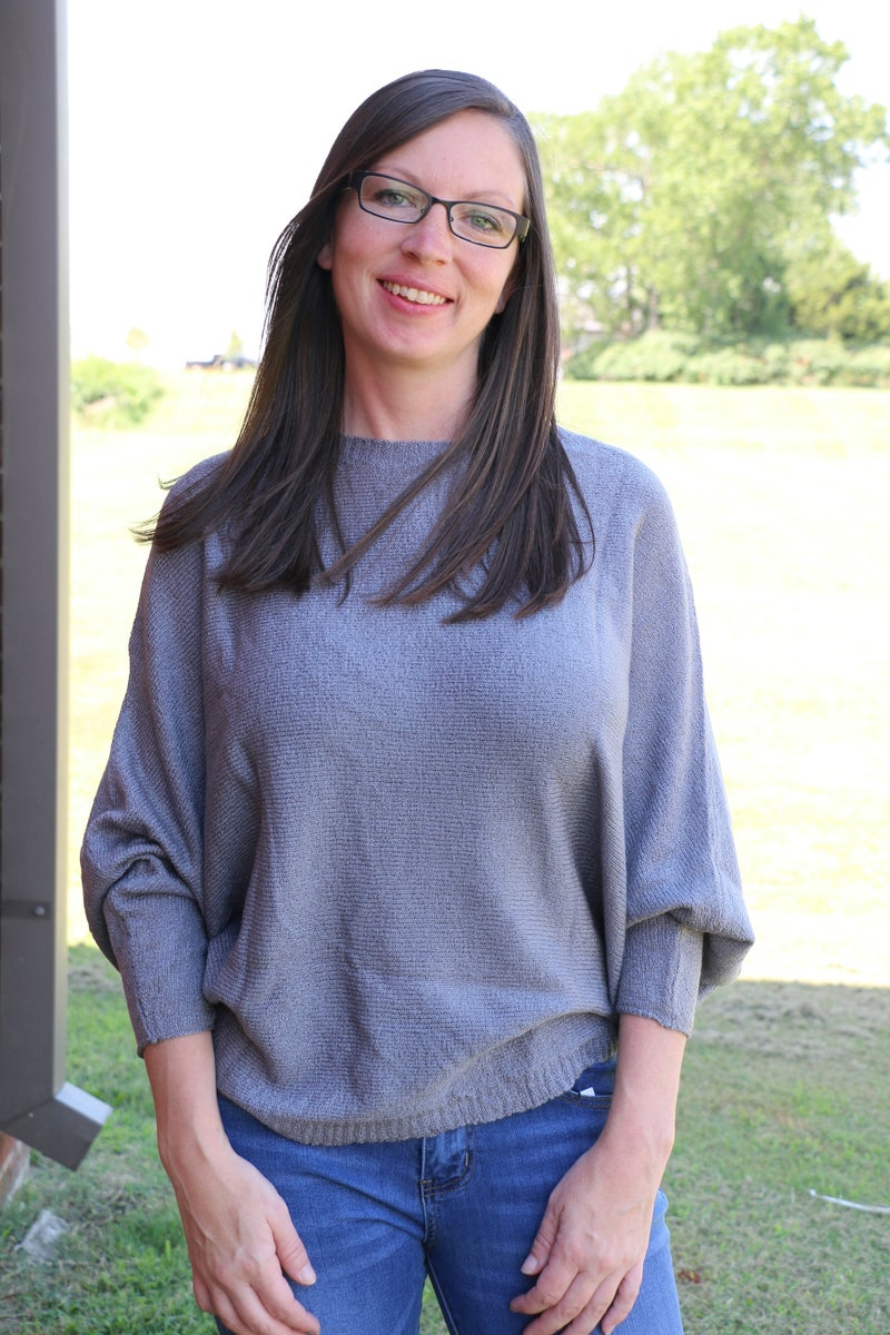Always Ready Oversize Sweater Dolman in Multiple Colors - Sizes 4-12