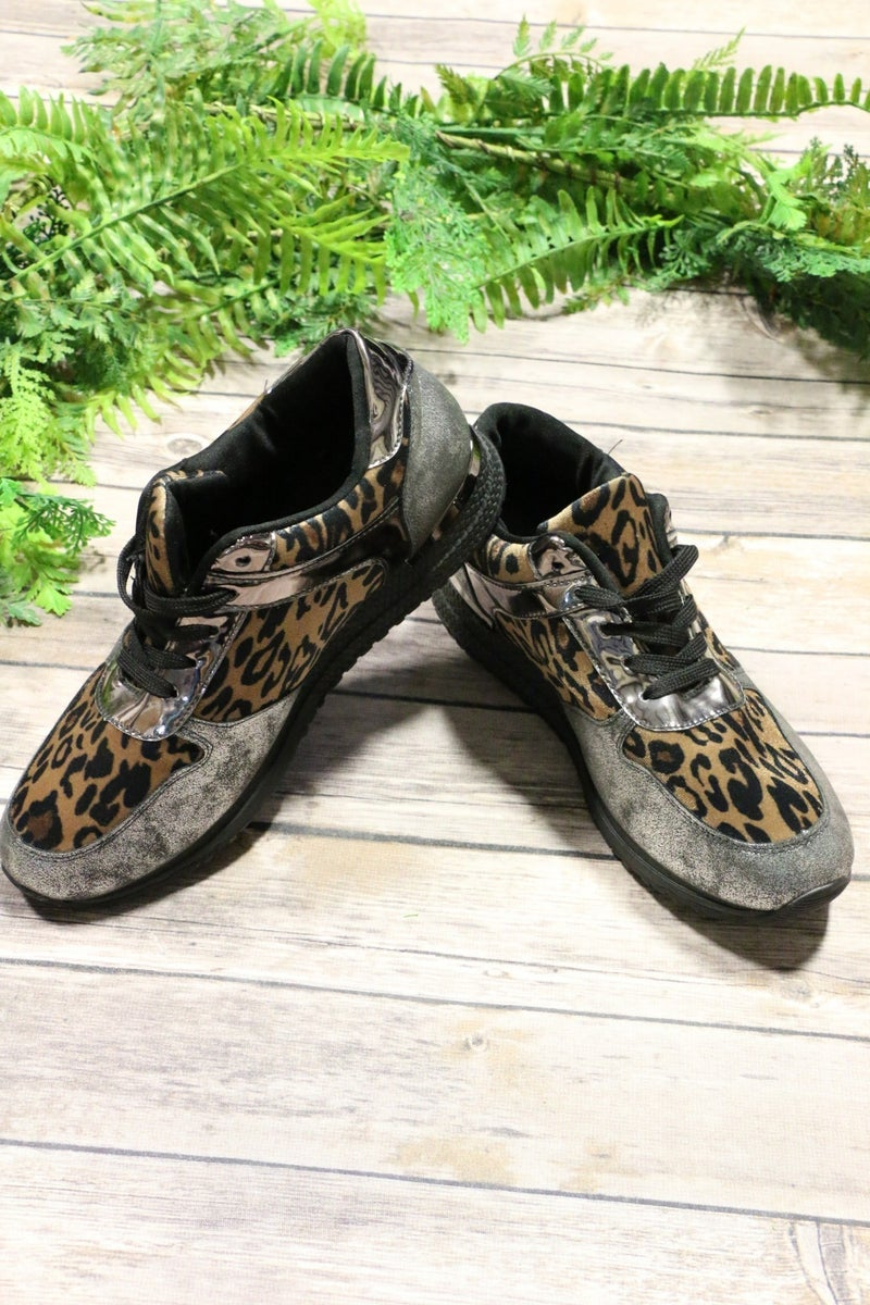 Spotted From Afar Leopard Sneakers - Sizes 5.5-10