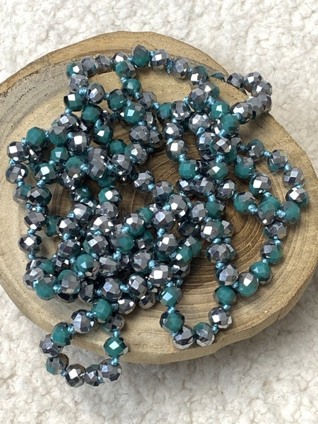 Spearmint Point Of Perfection Beaded Necklace