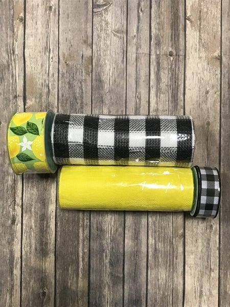 Lemon Drop Wreath Making Kit