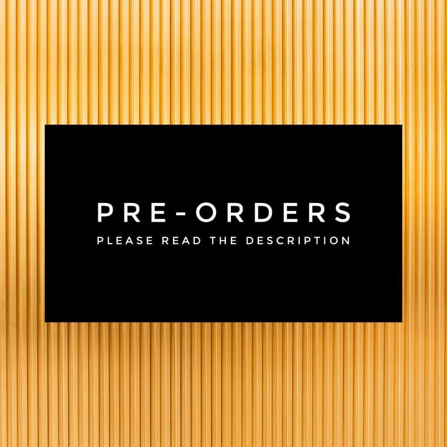 Pre-Orders!