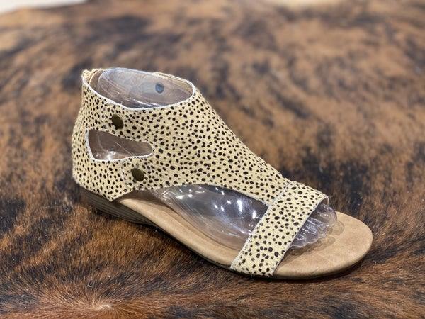 Corky's Jayde Brown Speckled Sandal!