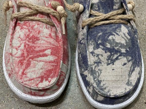Gypsy Jazz Very G Swirl Canvas Shoe