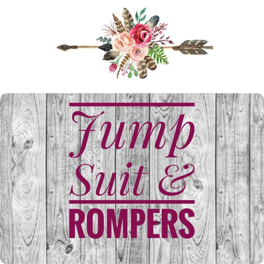 Jump Suit & Rompers
