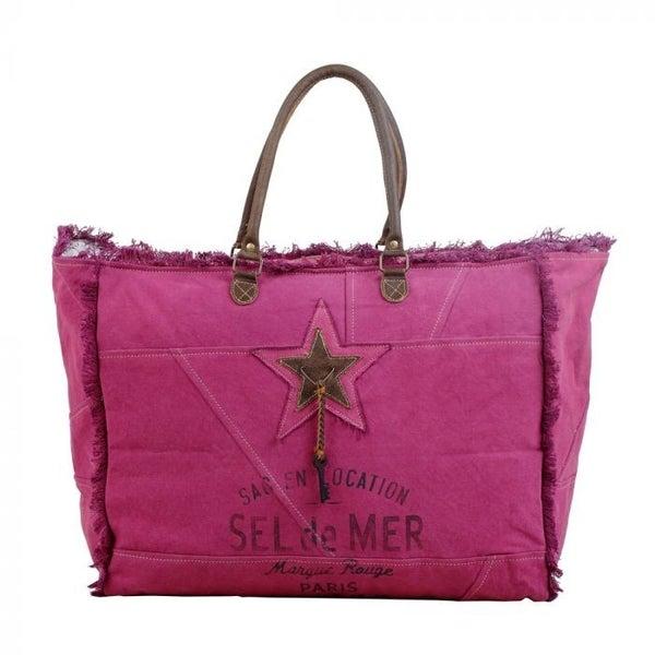 Myra Bag  Popping Pink Weekender