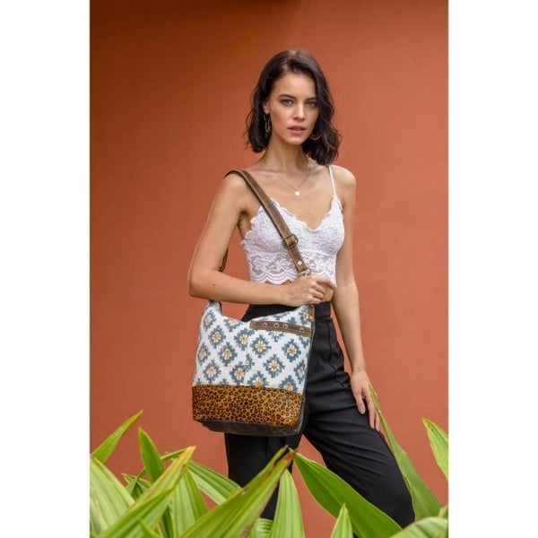 Myra Bags Blue Sapphire Shoulder Bag