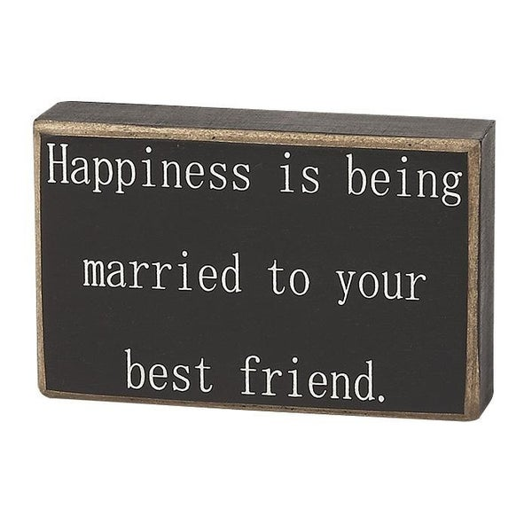 Home Décor Happiness Is Being Married To Your Best Friend