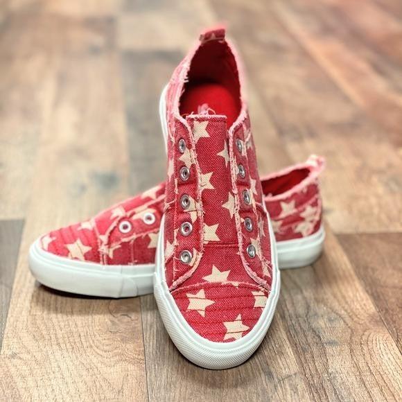 Corkys Red Star Babalu Sneakers