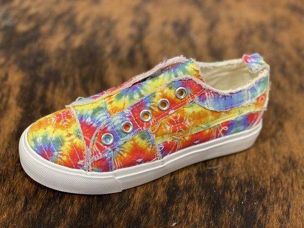 Corkys Kids Tie Dye Babalu Sneakers!