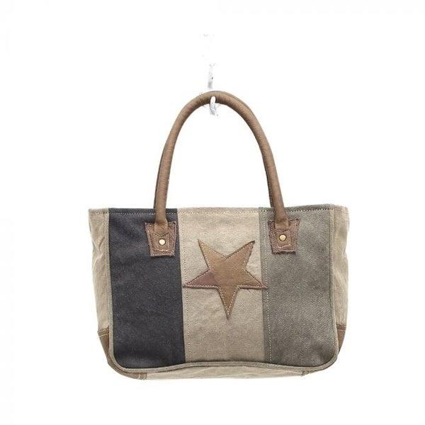Myra Bags Star On Canvas Small Bag