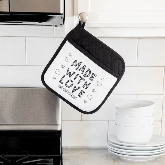 Rated XXX Made With Love Pot Holder