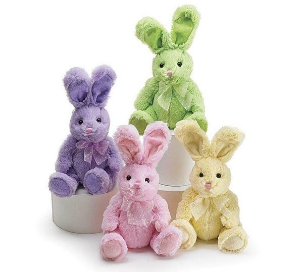 Plush Spring Easter Bunnies