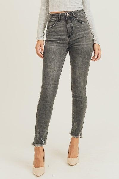 Risen Grey Skinny Jeans