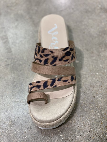 Gypsy Jazz Very G Grove Leopard Sandal