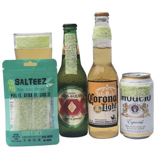 Salteez Beer Salt Strips - Salt & Lime or Pickle Salt Flavor