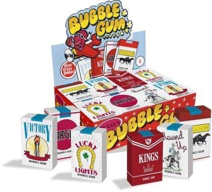 Bubble Gum Candy Cigarettes