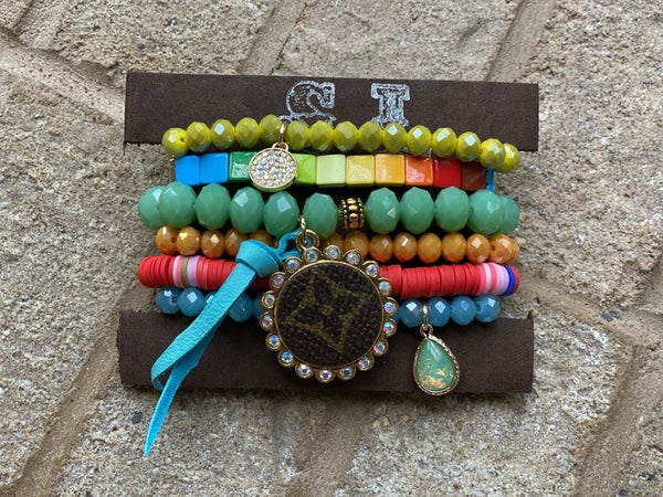 Upcycled Couture Tropical Stack!