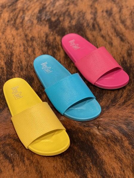 Corky's Backyard Sandals