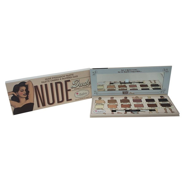 The Balm>>>The Nude Dude Eye Shadow Palette