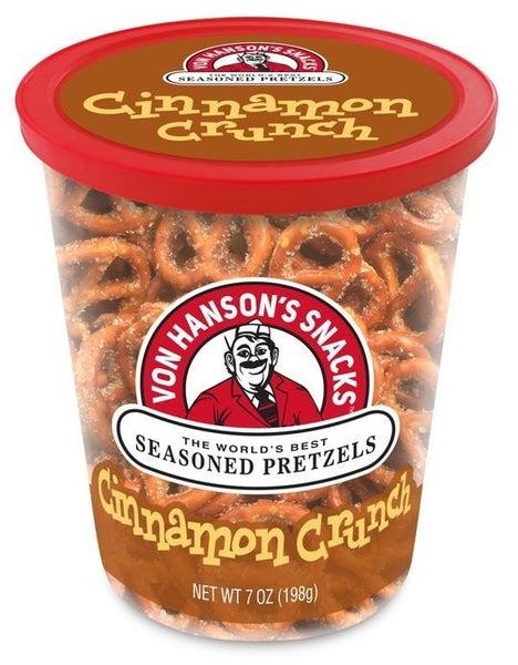 Von Hanson's Seasoned Pretzels 7OZ.