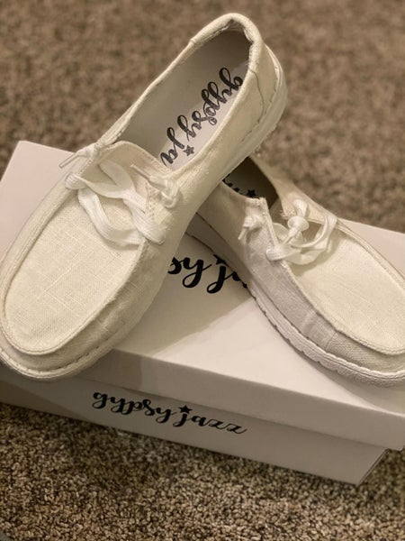 Gypsy Jazz Very G Holly Sneakers**White**
