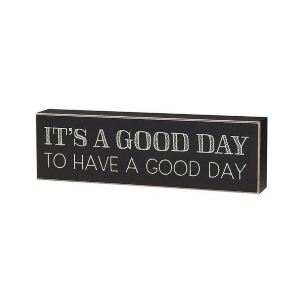 Home Décor Good Day Box Sign