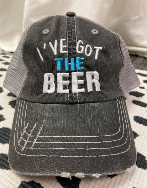 I've Got The Beer Baseball Trucker Hat