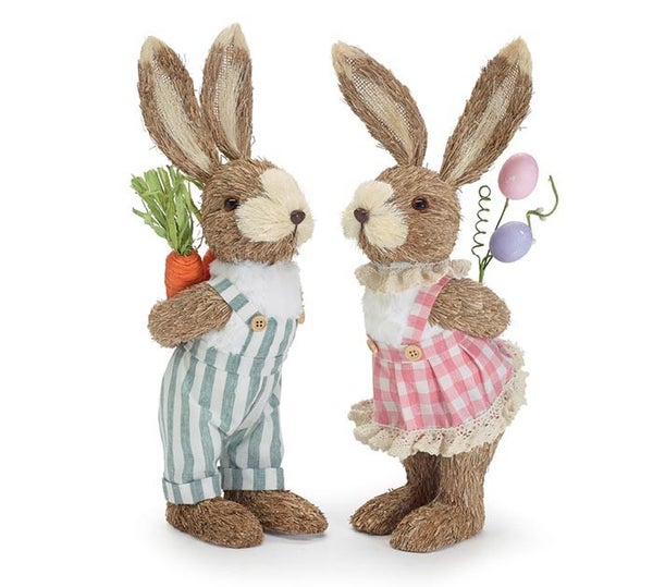 Home Decor John & Lori Love Bunny Couple <3