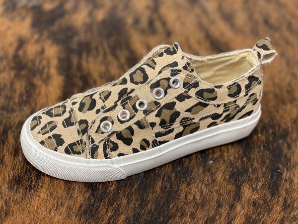 Corkys Kids Leopard Babalu Sneakers!