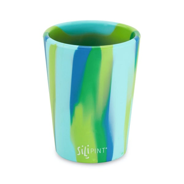 Silipint 8oz Kid Friendly Cup Hippie & Sea Swirl