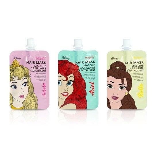 Disney Princess Hair Masks ** Belle-Ariel-Aurora